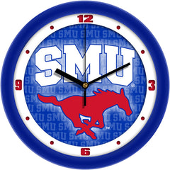 SMU Mustangs Dimension Wall Clock