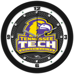 Tennessee Tech Golden Eagles Carbon Fiber Wall Clock
