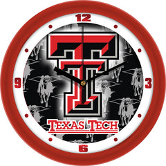 Texas Tech Red Raiders Dimension Wall Clock