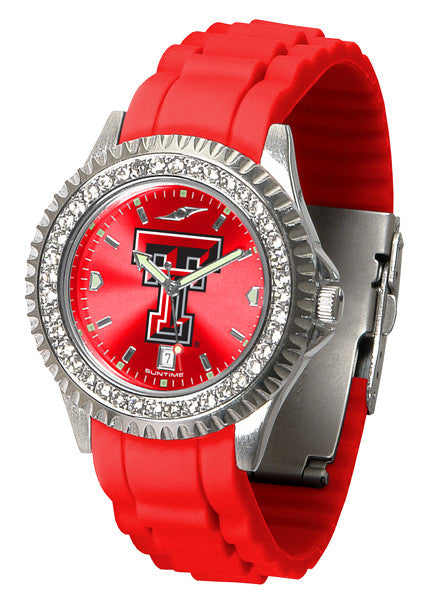 Texas Tech Red Raiders Womens Sparkle Watch