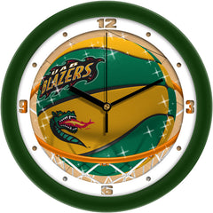 UAB Blazers Slam Dunk Wall Clock