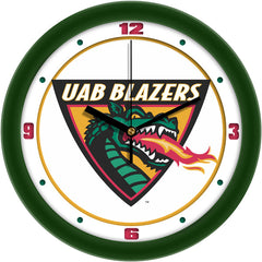 UAB Blazers Traditional Wall Clock