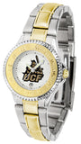 Central Florida Knights Womens Competitor Two Tone Watch