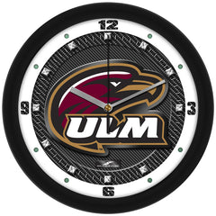 Louisiana Monroe Warhawks Carbon Fiber Wall Clock