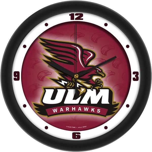 Louisiana Monroe Warhawks Dimension Wall Clock