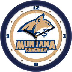 Montana State Bobcats Traditional Wall Clock