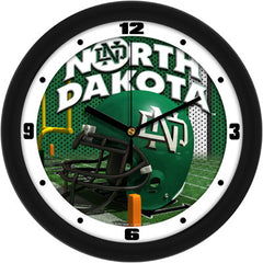 North Dakota Fighting Sioux Football Helmet Wall Clock