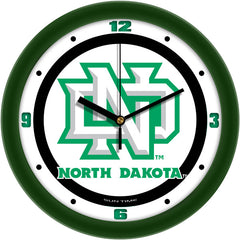 North Dakota Fighting Sioux Traditional Wall Clock