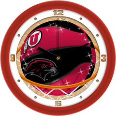 Utah Utes Slam Dunk Wall Clock