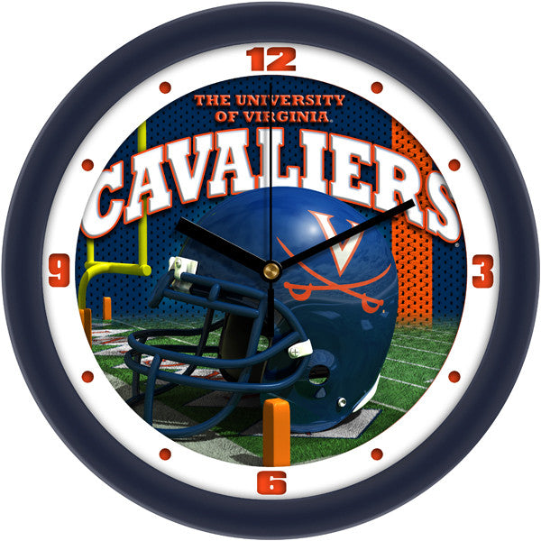 Virginia Cavaliers Football Helmet Wall Clock