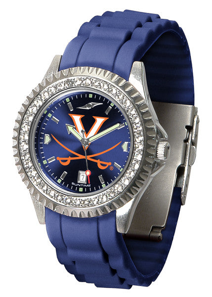 Virginia Cavaliers Womens Sparkle Watch
