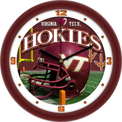 Virginia Tech Hokies Football Helmet Wall Clock