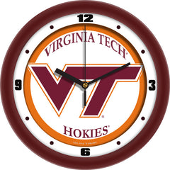 Virginia Tech Hokies Traditional Wall Clock