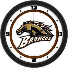 Western Michigan Broncos Traditional Wall Clock
