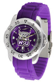 Weber State Wildcats Sport AC Anochrome Watch