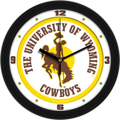 Wyoming Cowboys Traditional Wall Clock