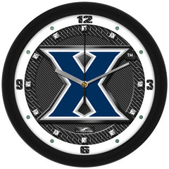 Xavier Musketeers Carbon Fiber Wall Clock