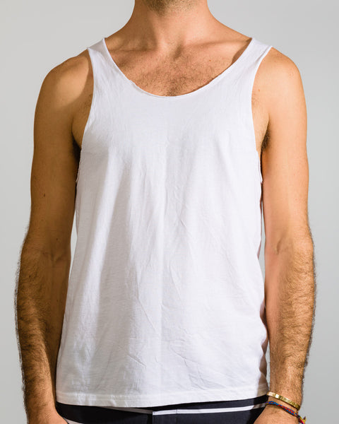 Raw Edge Tank Top - ANYBRAND  - 1