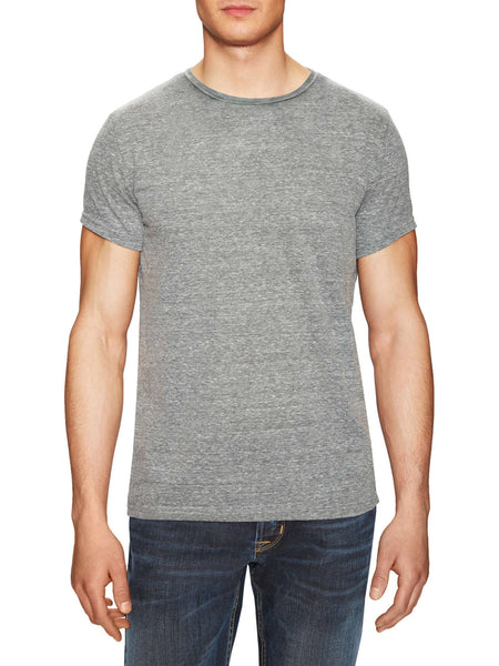 Vintage Heather Grey Crew T-Shirt