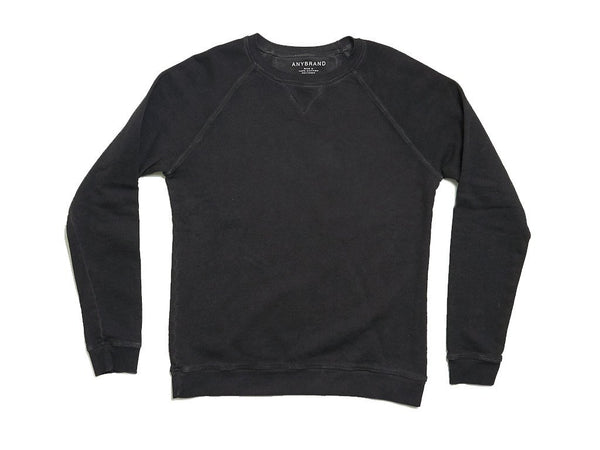 OIL WASH SWEATSHIRT