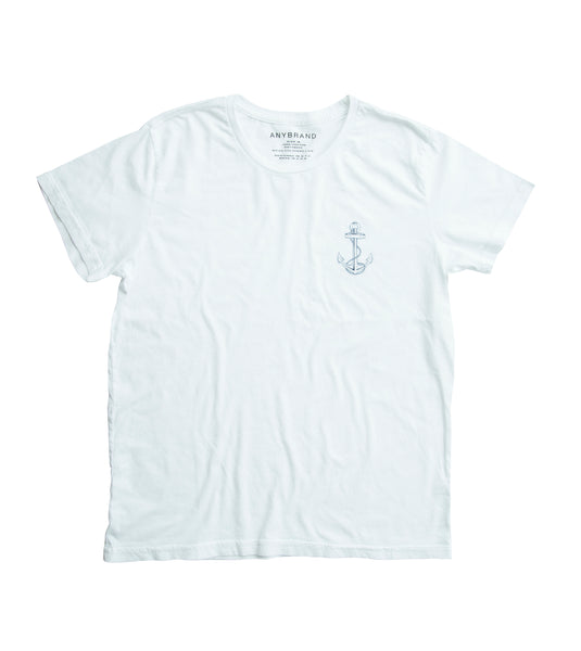 "ANYBRAND x retromarine ""Anchor"" T-shirt"
