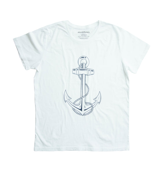 "ANYBRAND x retromarine Big ""Anchor"" T-shirt"