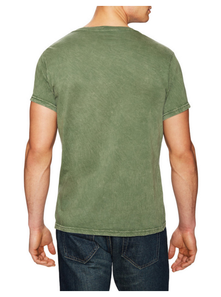 Power Wash V-Neck -Olive - ANYBRAND  - 2