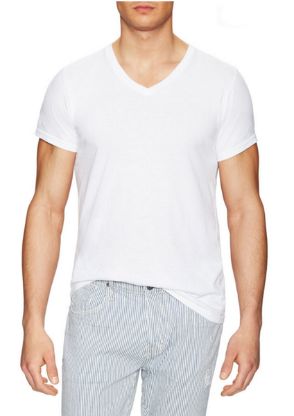 Luxury V-Neck t-shirt - ANYBRAND  - 1