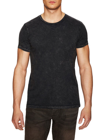 POWER WASH CREW NECK T-SHIRT - WASHED BLACK