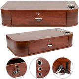 Wall Mount 1 Drawer Locking Styling Cabinet Cherry OUT OF STOCK, furniture - The Salon Product Store, The Salon Product Store  - 4
