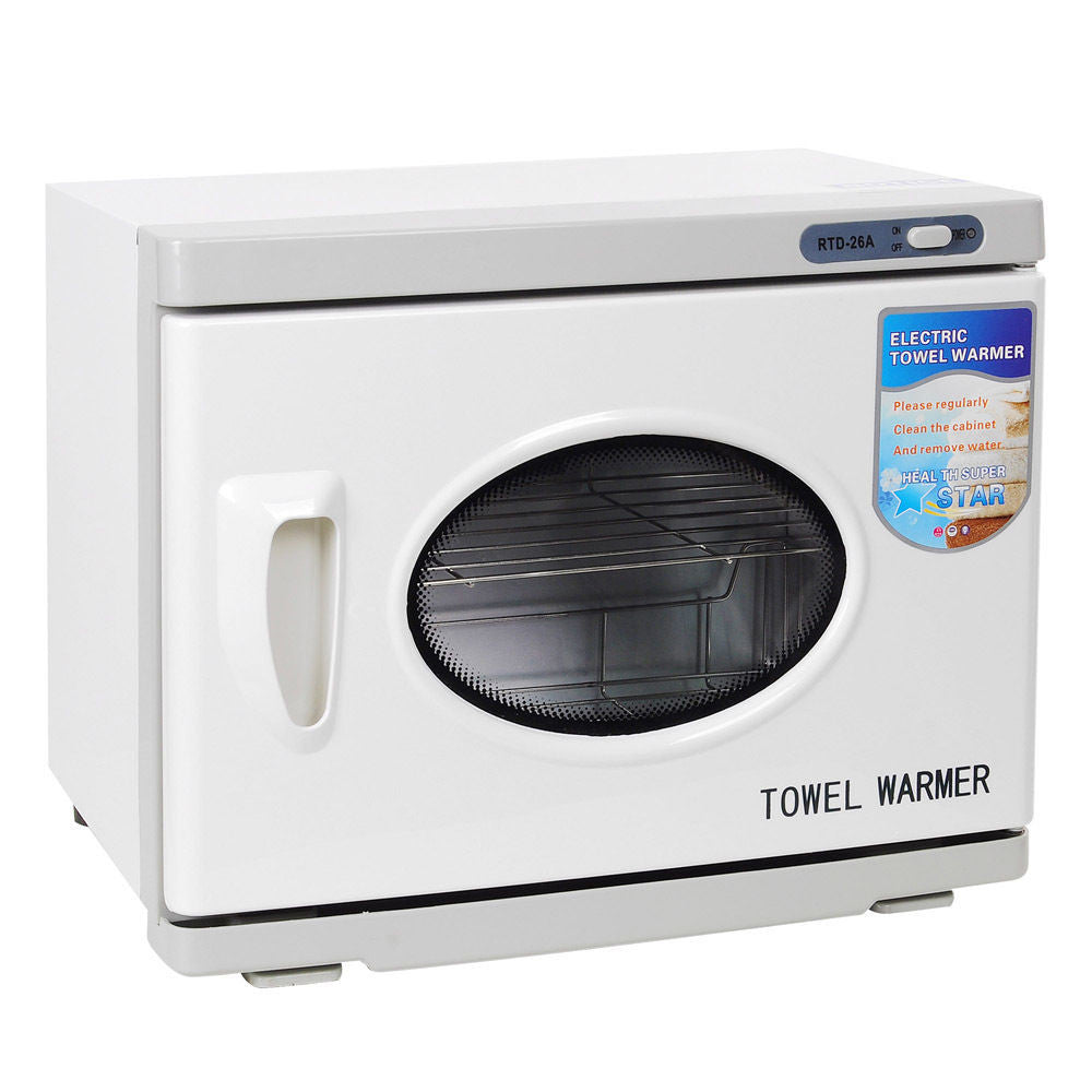 26l Uv Towel Warmer Sterilizer With 2 Racks Cabinet The