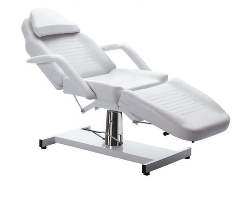 Professional Hydraulic Facial/Salon Bed White, Facial/Salon Beds - Massage Tables For Less, The Salon Product Store  - 1