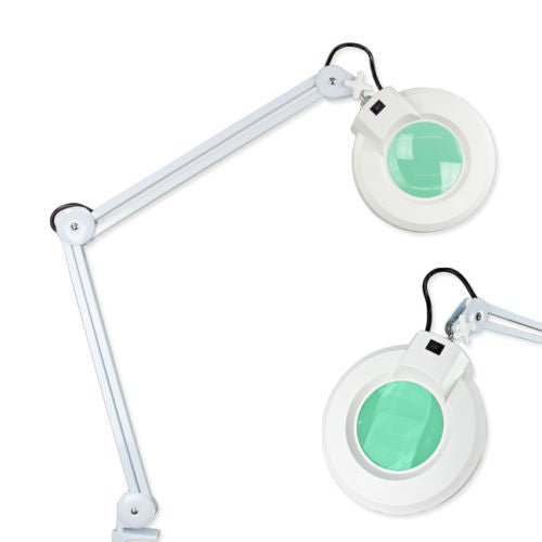 Desk Magnifying Lamp with 5x Lenses