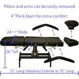 Salon Bed with Stool , Hydraulic Facial/Salon Bed - The Salon Product Store, The Salon Product Store  - 3