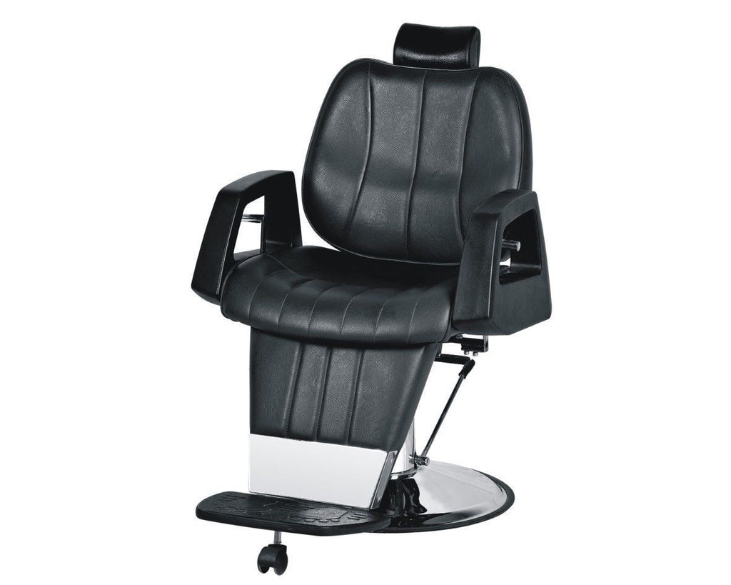 Supreme Hydraulic Reclining Barber Chair Black, Barber Chairs - The Salon Product Store, The Salon Product Store  - 2
