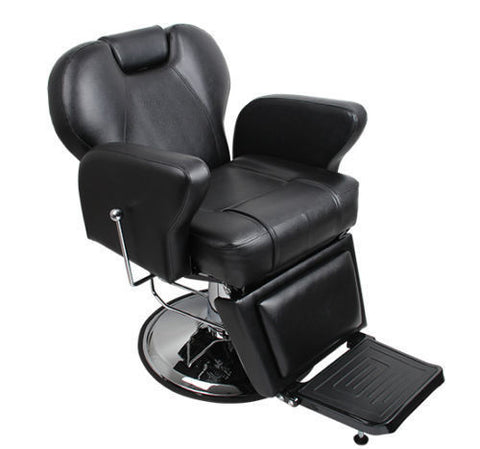 The Basic Black Hydraulic Barber Chair , Barber Chairs - The Salon Product Store, The Salon Product Store