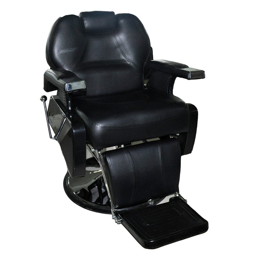 Deluxe Heavy Duty Barber Chair Black, Barber Chairs - The Salon Product Store, The Salon Product Store  - 1
