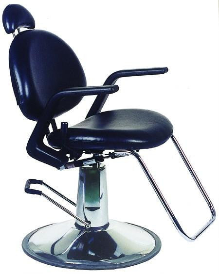 Rounded All Purpose Hydraulic Reclining Chair Black, All Purpose Chairs - Best Salon, The Salon Product Store  - 1