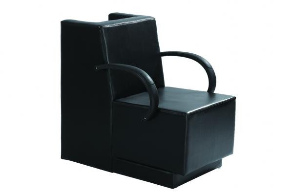 "Black Dryer Chair with 4"" Pad , Dryer Chair - The Salon Product Store, The Salon Product Store"