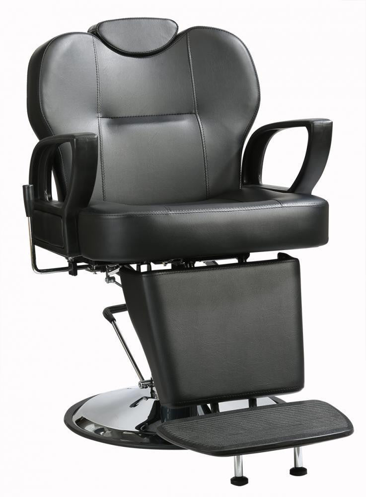Black Recling Barber Chair