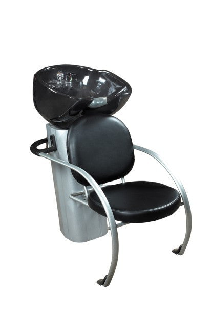 Porcelin Bowl Shampoo Station Black, Shampoo Stations - The Salon Product Store, The Salon Product Store  - 2