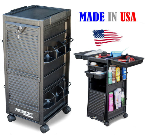 Lockable Rollabout Trolley , Carts - The Salon Product Store, The Salon Product Store  - 1