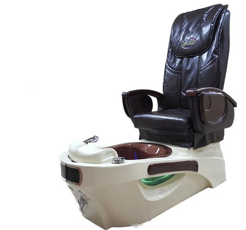 Pedicure Station w/ Foot Spa and Massage Chair Without Optional Pump, Pedicure Station - Massage Tables For Less, The Salon Product Store