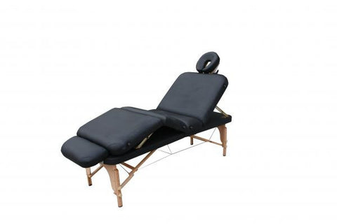 Multiple Position Folding  Massage-Facial-Physical Therapy Table Black, Stationary Massage/Therapy Tables - Best Massage, The Salon Product Store  - 1