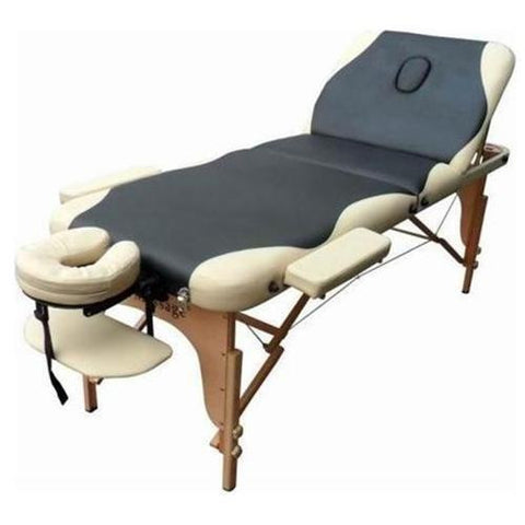 "The Marble Portable Massage Table with 2"" Pad with Reki Lift Default Title, Bolster Pillows - Best Massage, The Salon Product Store"