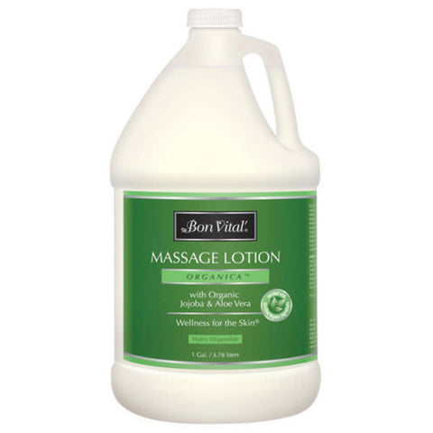 Bon Vital Organica Massage Lotion - 1 Gallon Default Title, Oils/Lotion - Bon Vital, The Salon Product Store
