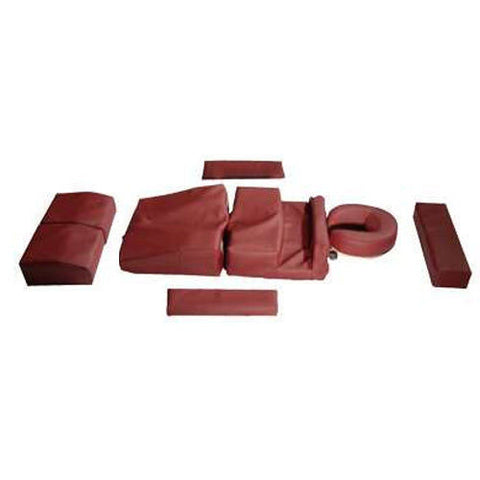Deluxe Prenatal Pregnancy Cushion Set Burgundy, Massage Accessories - The Salon Product Store, The Salon Product Store  - 1