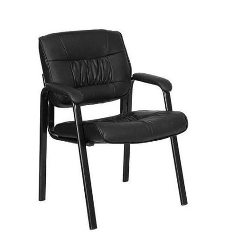 leather executive guest and reception chair furniture the salon