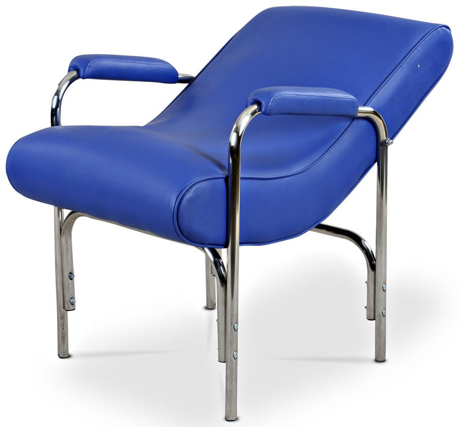 Reclined Shampoo Chair Blue, Shampoo Stations - The Salon Product Store, The Salon Product Store  - 1
