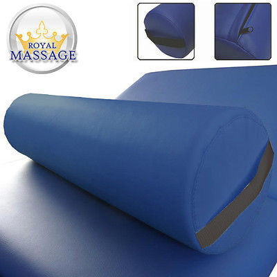 Full Round Massage Bolster Pillow Royal Blue, Bolster Pillows - Royal Massage, The Salon Product Store  - 1
